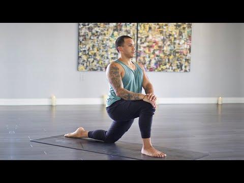 Yoga For Hip Mobility (Get Sweaty!) 1 Hour Vinyasa Flow