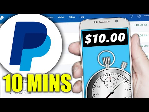 Earn $10.00 in 10 Minutes PayPal Money! (Make Money Online)