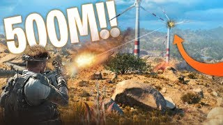UNBELIEVABLE ½ KILOMETRE Turbine Snipe! - Blackout BEST MOMENTS and FUNNY FAILS #57