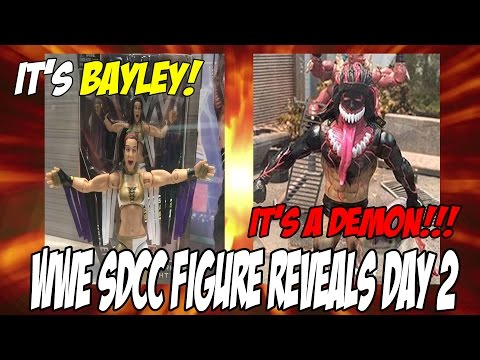 WWE Mattel SDCC Figure Reveals Day 2: It
