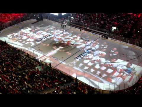 Game 5 DevilsKings Playoff  at the Rock on Sat. June 9, 2012