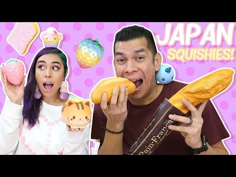 Squishies from JAPAN!