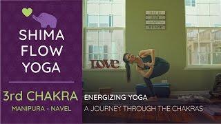 YOGA for BEGINNERS -Energizing Yoga 3rd Chakra Manipura Solar Plexus