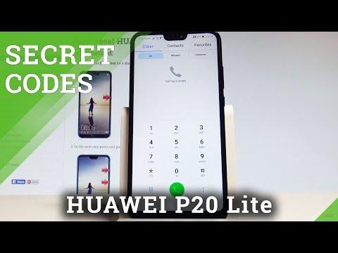 Codes HUAWEI P20 Lite - HardReset info