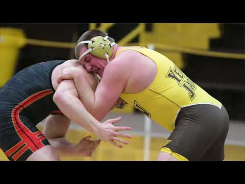 NCAA D3 Wrestling Championships: Baldwin Wallace senior Tyler Maclellan has high hopes (video)