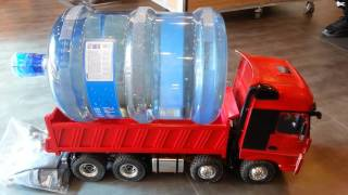 RC Hydraulic Dump Truck Power Test