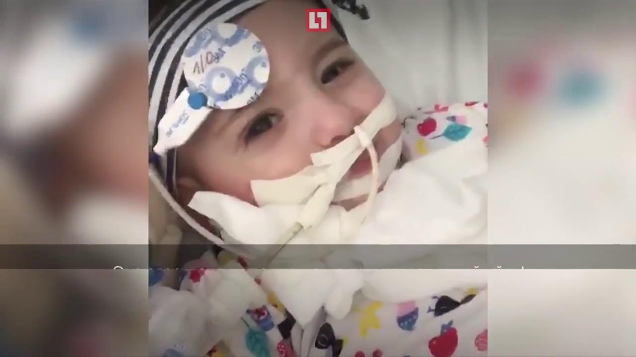 Девочка вышла из комы вопреки прогнозам врачей