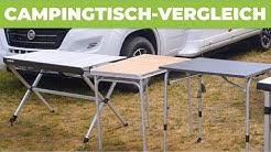 4 Camping-Tische im Test/Vergleich [2020]