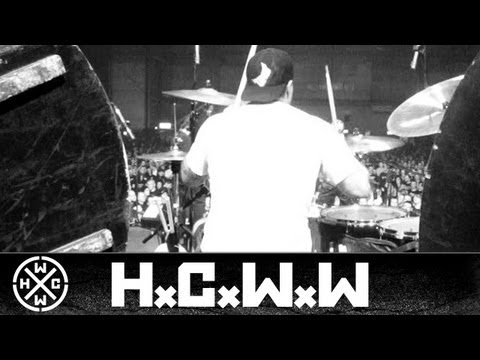 BIOHAZARD - DRUM CAM - PERISTENCE TOUR 2009 - DRESDEN - PART 1 (OFFICIAL HD VERSION)