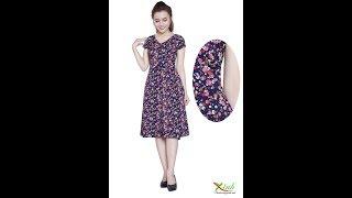 Jum Hoa Giả Váy Trẻ Trung DL776