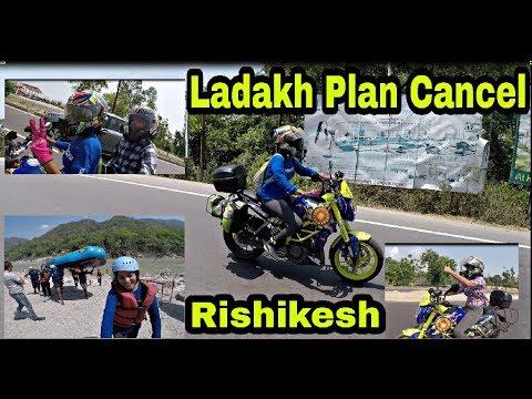 Curfew at Srinagar    Ladakh Plan Postponed    Enroute Rishikesh