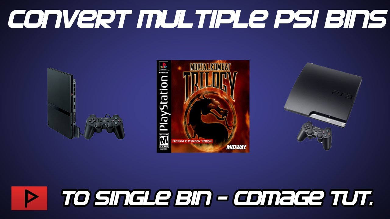 How do you compress 3 ps1 games into 1 cd? | GBAtemp net