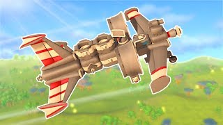 BUILDING A SMALL PLANE! - TerraTech Gameplay #4 - Survival Building Game