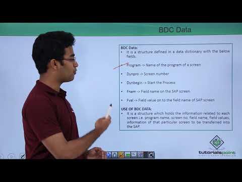 SAP ABAP - BDC Data - YouTube