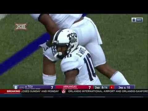 TCU vs Arkansas Football Highlights