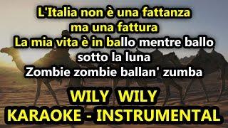Ghali: WILY WILY (Karaoke - Instrumental)