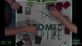 MTG Vintage - 22Mar2014 - Round 2 - Garrett Wiley (Burning Oath) v Josh Staples (RatStill)