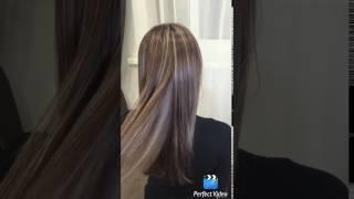 Колорирование волос в минске