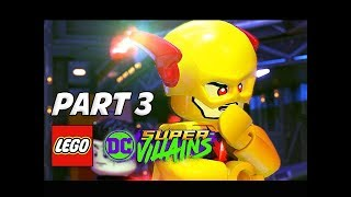 LEGO DC Super Villains Walkthrough Gameplay Part 3 - Reverse Flash (Let's Play Commentary)