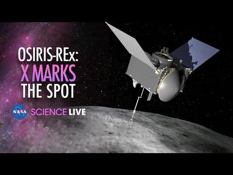 NASA Science Live: OSIRIS-REx X Marks the Spot