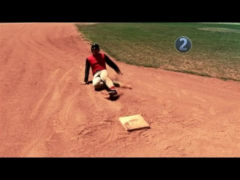 How To Do A Straight-Leg Slide In Baseball