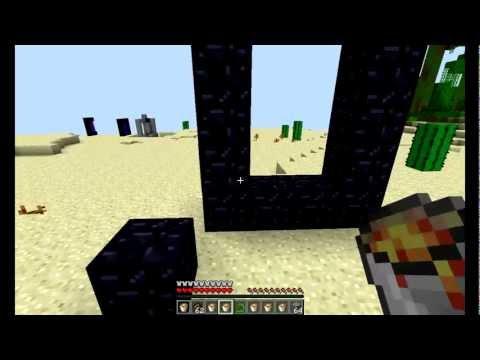 Как сделать портал в ад 2 способа! minecraft (720 HD)