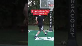 Tips for Throwing Down FIRST DUNK #shorts