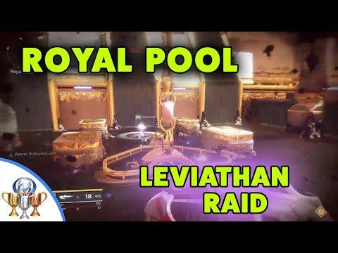 Destiny 2 Leviathan Royal Pool Raid Guide - Read Description For Detailed Instructions