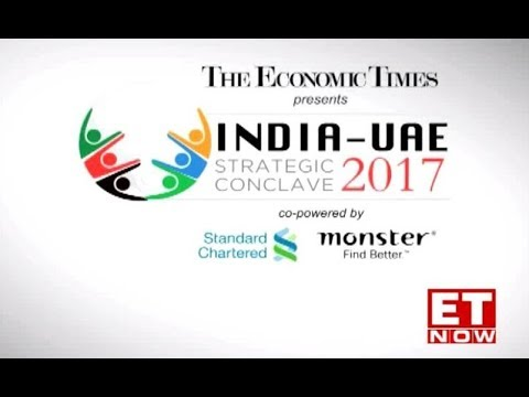 The Economic Times India-UAE Strategic Conclave, Dubai on ET NOW