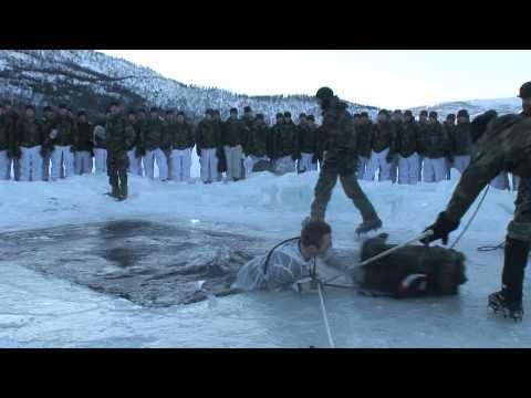 Wakskiën tijdens wintertraining Noorwegen