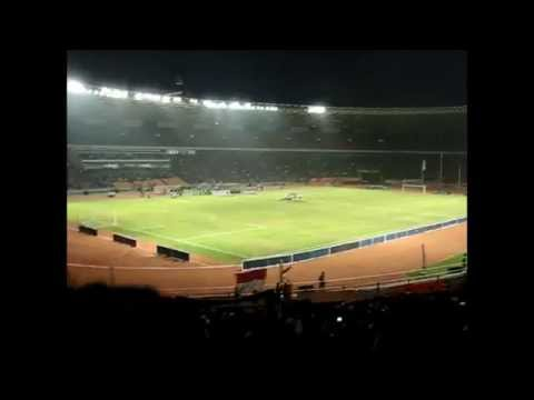 Indonesia Raya di Gelora Bung Karno Stadium