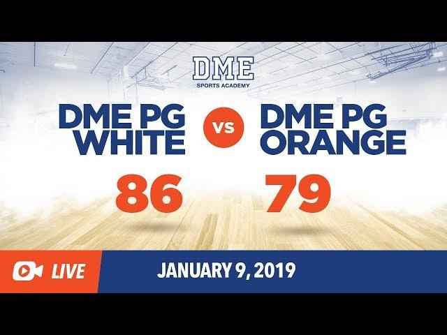 DME PG White vs DME PG Orange