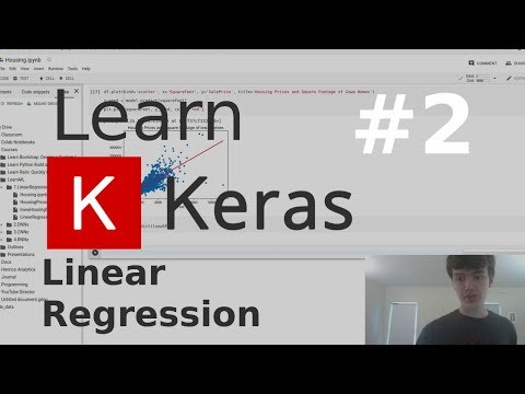 Predict Housing Prices Using Linear Regression   Learn Keras #2