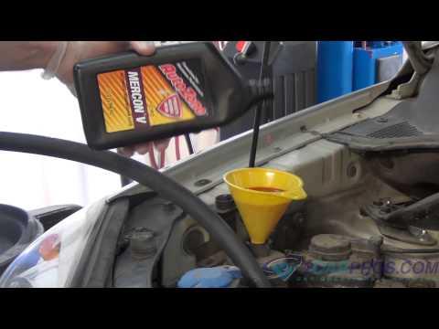 Power Steering Fluid Flush 2004-2010 Kia Sportage