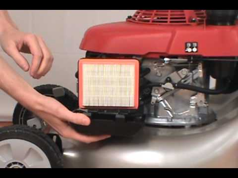 Replacing the Air Filter - Honda Lawn Mower