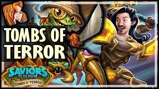 FINLEY THE MASTER THIEF! - HEROIC Tombs of Terror Chapter 1 - Saviors of Uldum Hearthstone