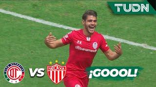 ¡Gol del Toluca! Remontada en el 'Infierno' | Toluca 2 - 1 Necaxa | Liga Mx - CL 2020 - J2 | TUDN