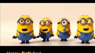 Minions Sing Happy Birthday Youtube