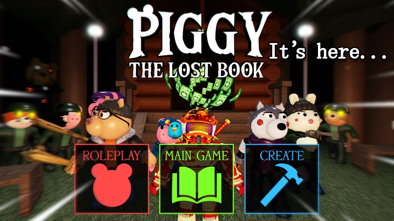 ROBLOX PIGGY: THE LOST BOOK is here...