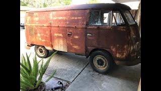 1962 Volkswagen Bus, VW Type 2 - RESURRECTION RESTORATION!!! VW Panelvan, VW Kombi