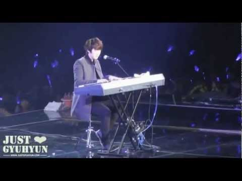 [Kyuhyun fancam] 120203 SS4 Taiwan - Isn't She Lovely