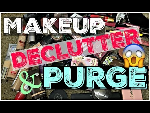 Makeup Collection Declutter 2015 | JAMbeauty89