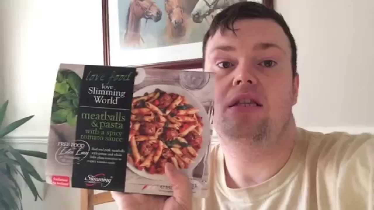 Slimming World Frozen Ready Meals Review Meatballs With
