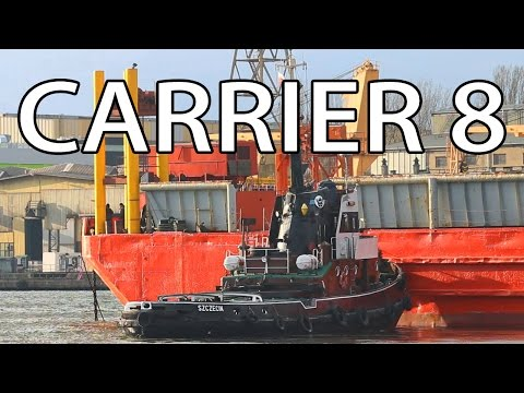 Carrier 8 Oversize Docking Pontoon Marine Group Fairplay Towage