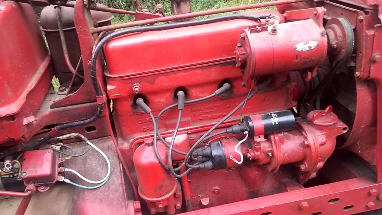 1953 Farmall Super H No Start  YouTube