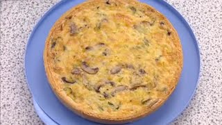 Cheese And Vegetable Quiche - Gary Rhodes - Bbc