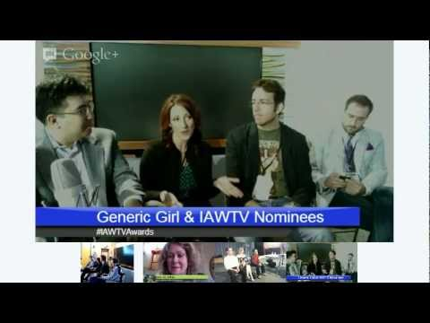 Generic Girl hosts IAWTV Awards Hangout at KLAS-8 Las Vegas