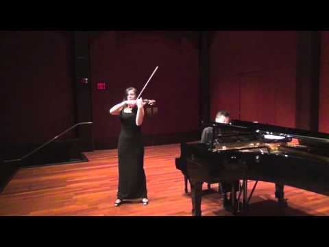 Tchaikovsky Meditation Op.42 by Violinist Xia Xia Zhang/ The Winner of Global Music Award