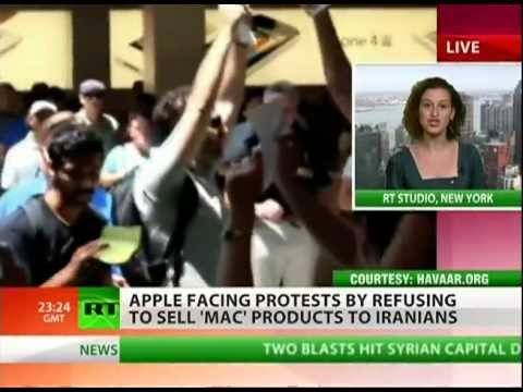 Apple going to war with Iranian-Americans?