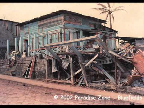 Huracan Joan hace  24 años, Bluefields 2012
